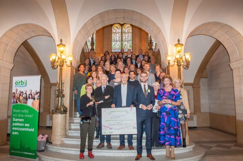 PERSBERICHT – Coalitie Erbij Rotterdam viert 5-jarig bestaan